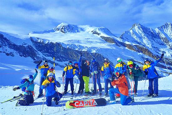 Le Régent International School ski trip to Saas-Fee