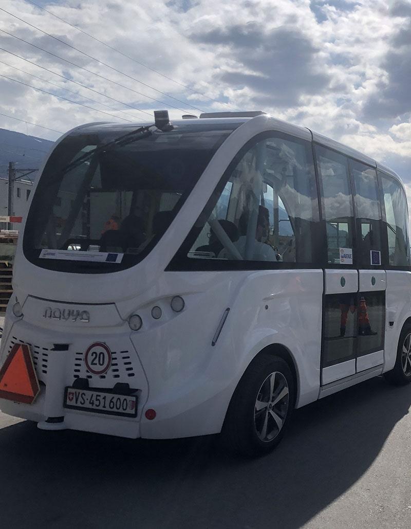 Le Régent International School Crans-Montana Autonomous Buses