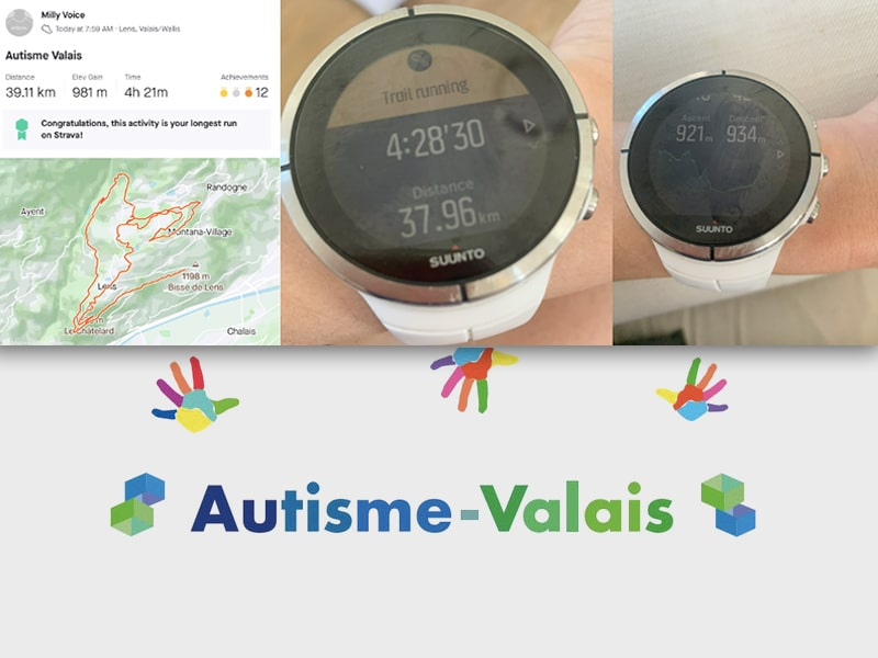 Spring Running: Supporting Autisme-Valais